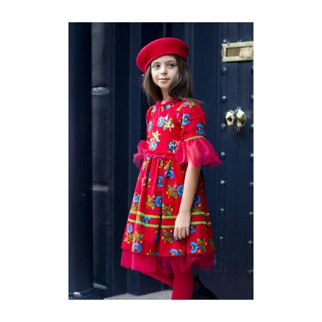 Heritage Dress, Red