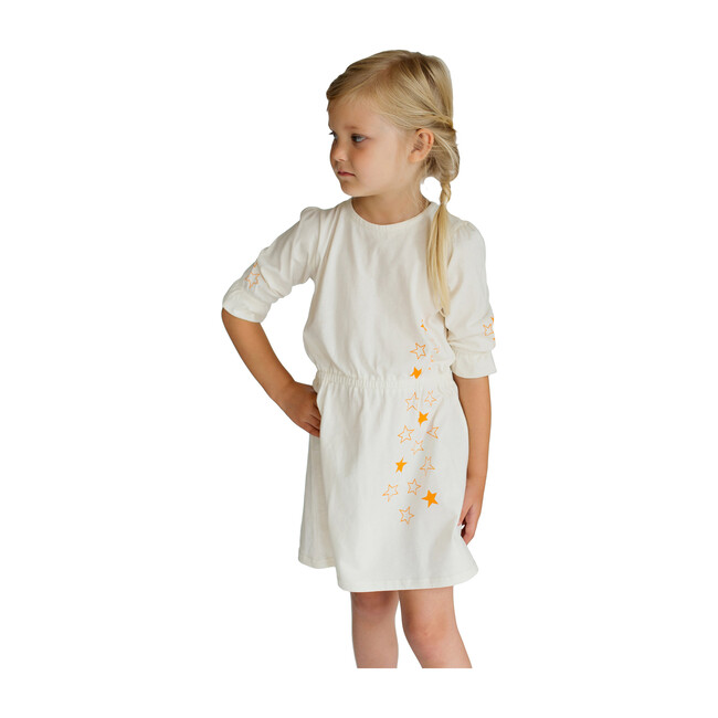 Organic Cotton Joli Dress, Cream