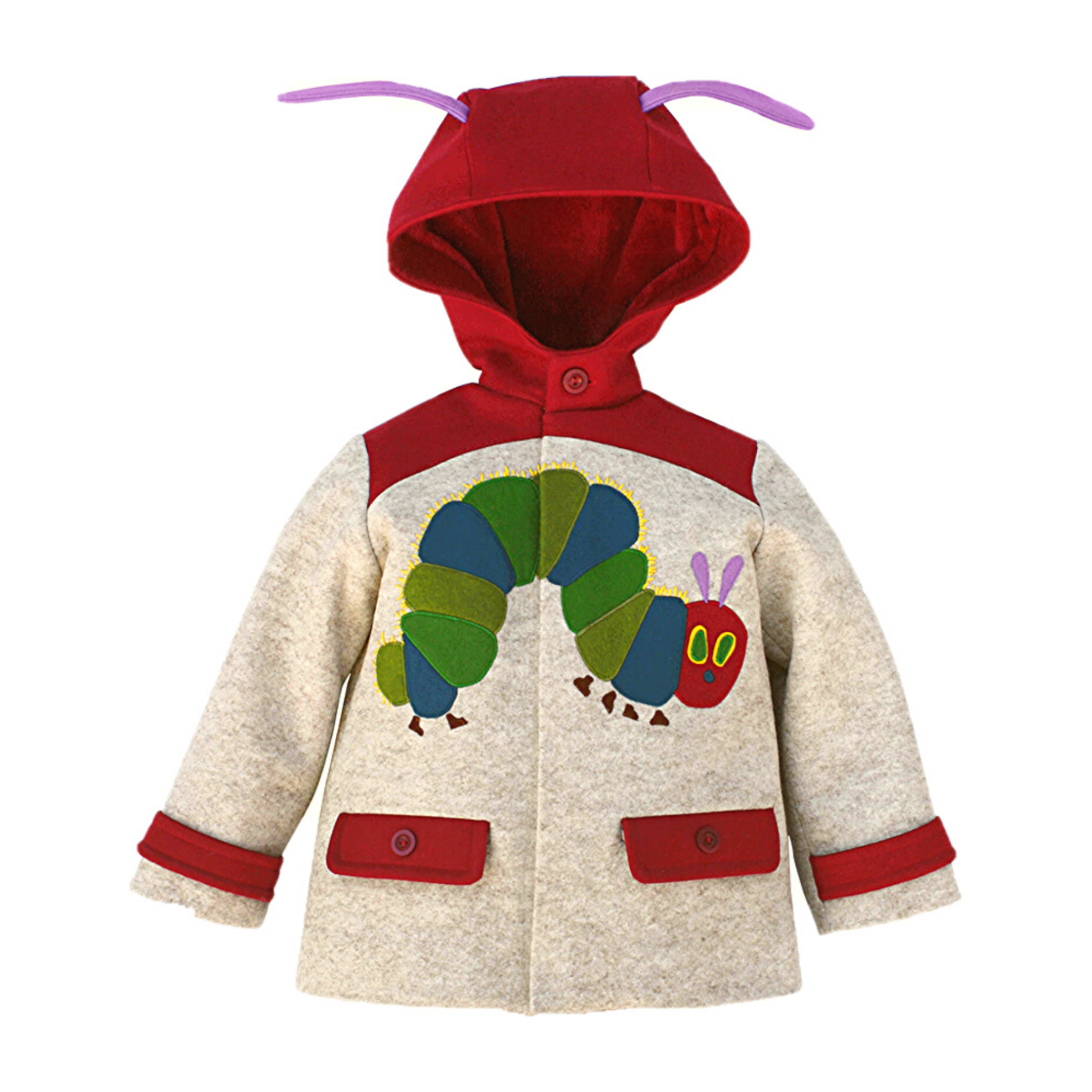 The Very Hungry Caterpillar™ Coat, Heather Oatmeal