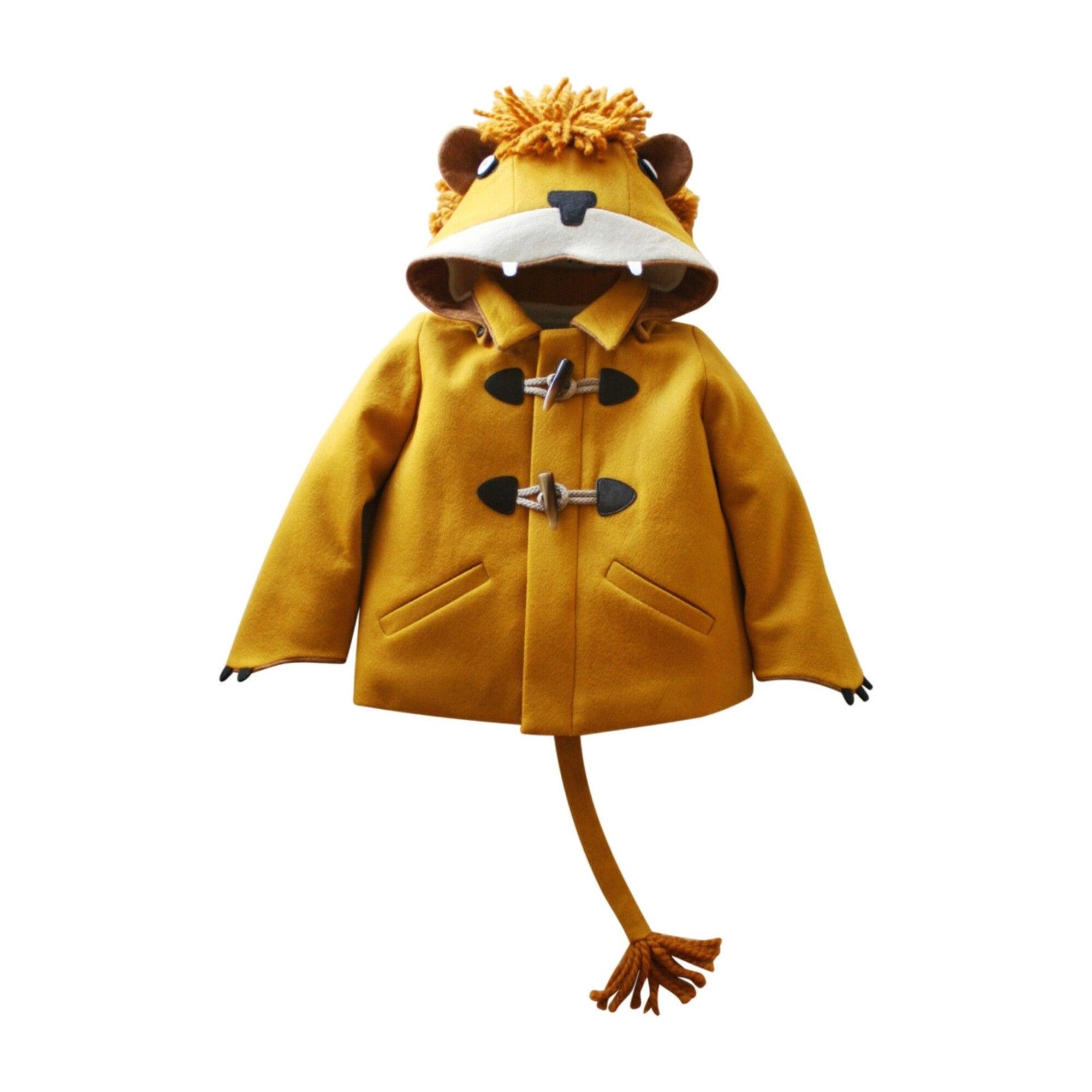 Luxe Lion Coat, Golden Yellow