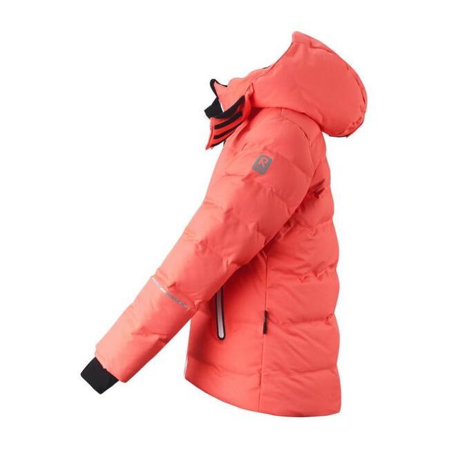 Reimatec down jacket Waken, Bright salmon