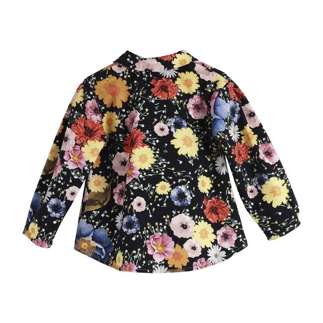 Lucia Coat, Flowers