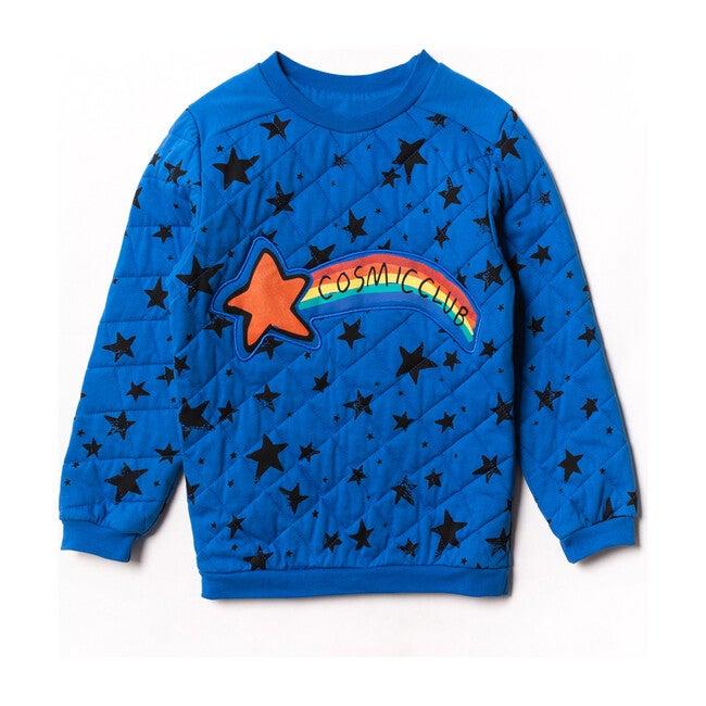 Cosmic Sweater, Blue