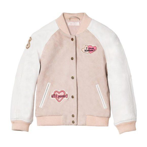 Hanna Bomber Jacket - Blush