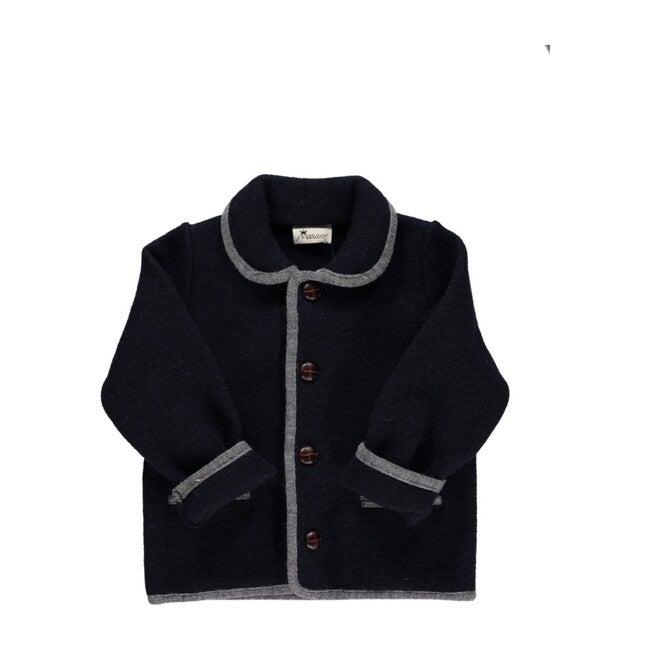 Redwink Coat, Navy - Coats - 1