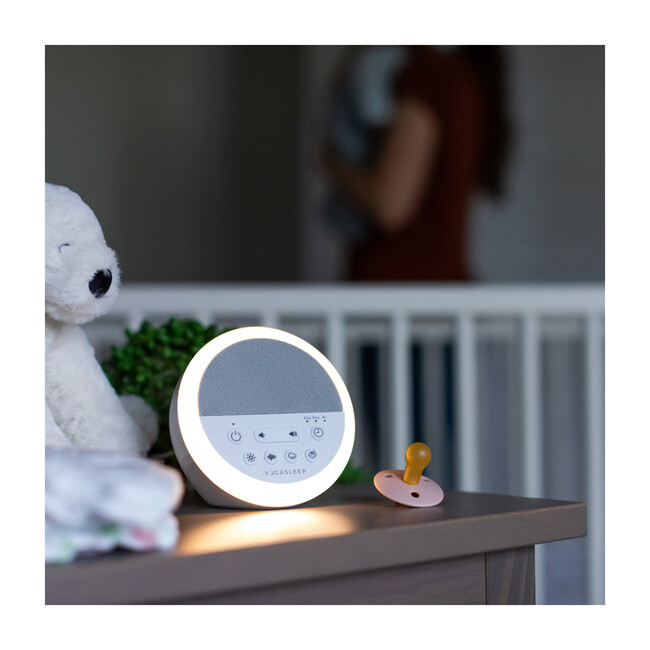 Nod White Noise Machine with Night Light