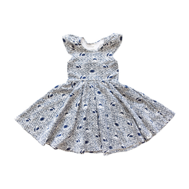 Ruffle Twirly Sharks Dress