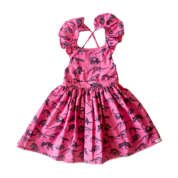 Ruffle Dress, Dino