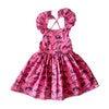 Ruffle Dress, Dino - Dresses - 1 - thumbnail
