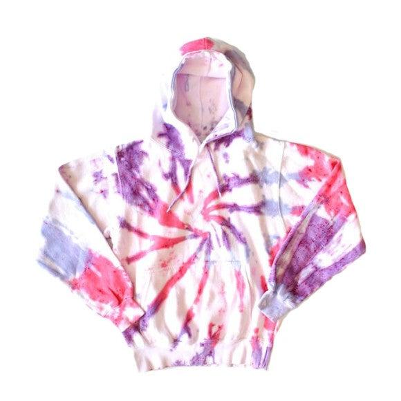 Adult Hoodie, Pink & Purple - Sweatshirts - 1