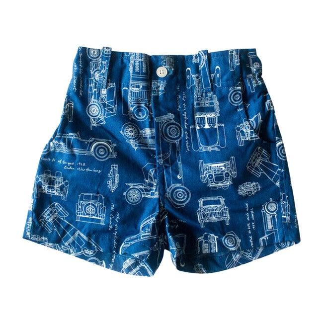 Shorts, Under the Hood Print - Shorts - 1