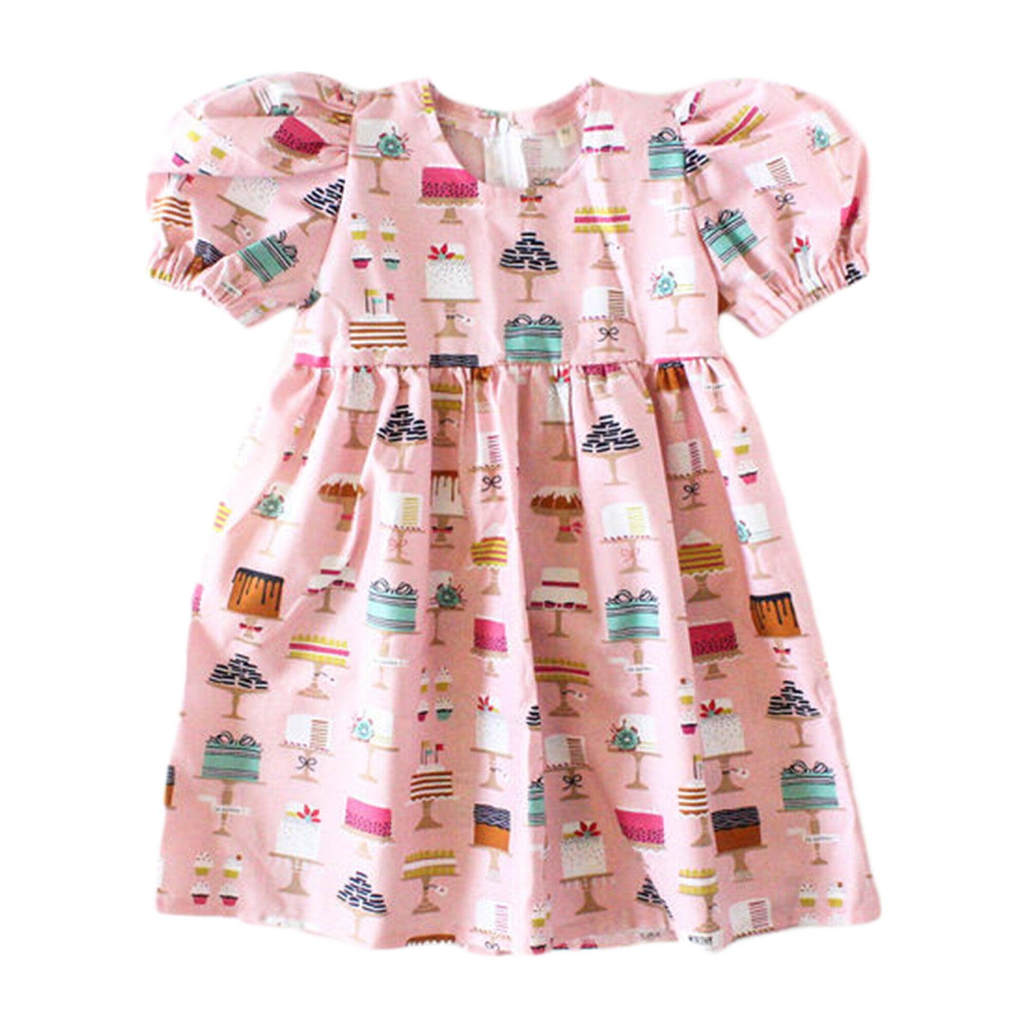 Puff Sleeve Dress, Made From Scratch