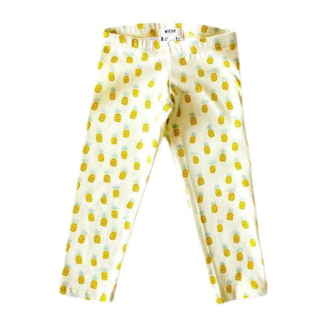 Leggings, Pineapple Print - Leggings - 1