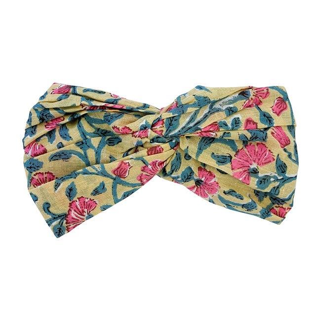 Yuriria Headband, Lemon Flowers