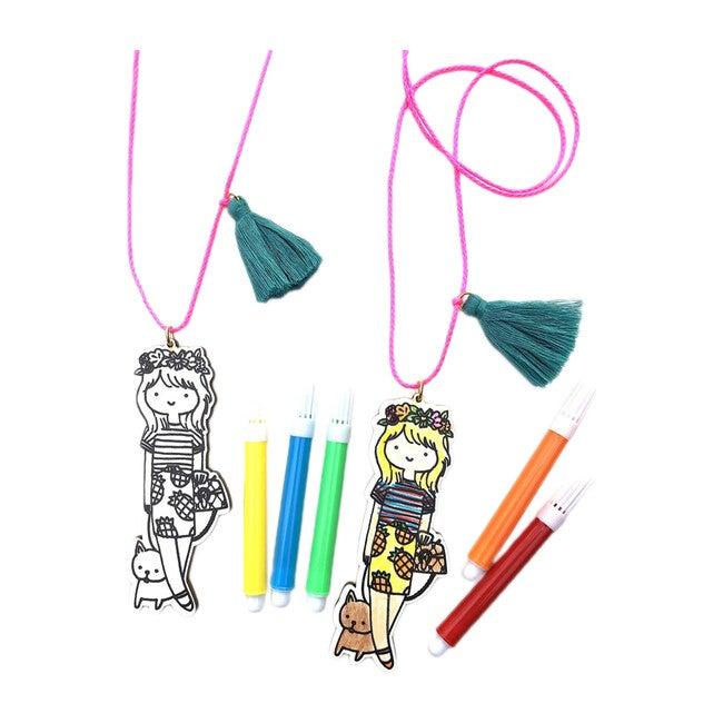 Mini Fashionista DIY Necklace, Cat + Mouse Collaboration