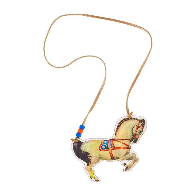 Lightning Horse Necklace