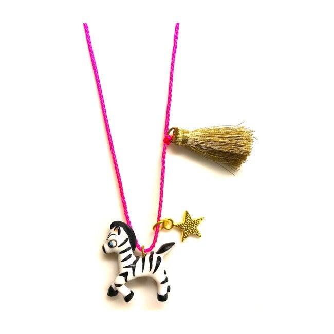 Zoe the Zebra Necklace