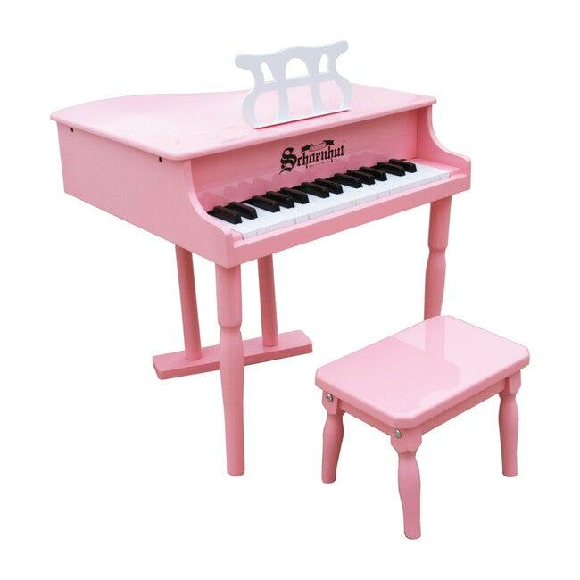 30-Key Classic Baby Grand Piano, Pink