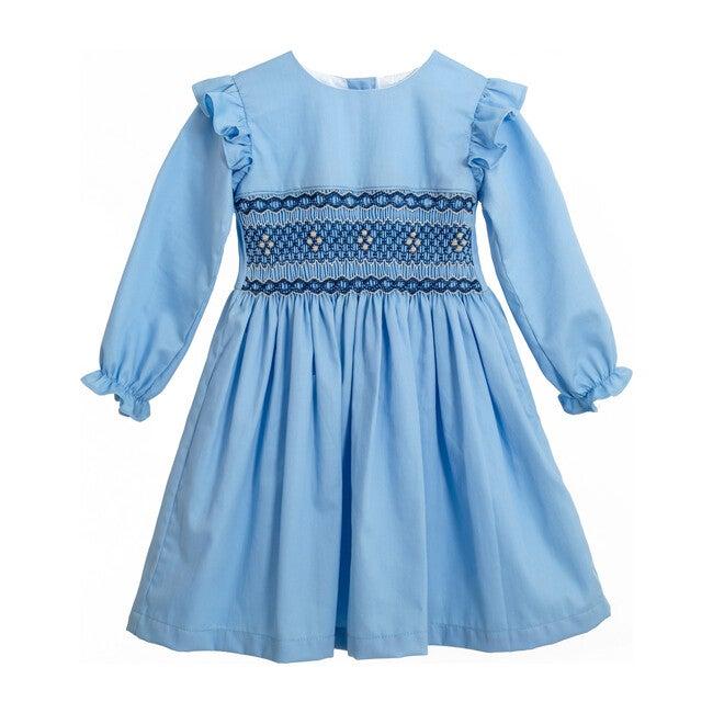 Rucu Dress, Sky Blue