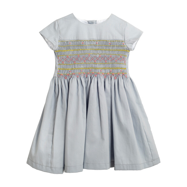 Barbara Dress, Light Grey