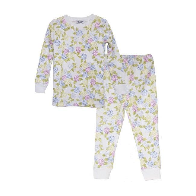 Two-Piece Pajamas, Hydrangea - Pajamas - 1