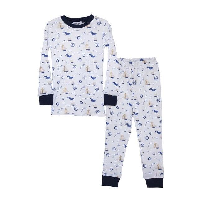 Two-Piece Pajamas, Nautical