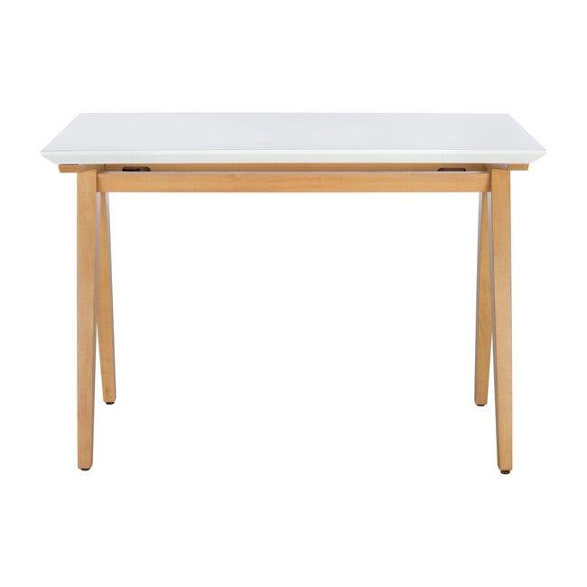 Reid Desk, Oak/White