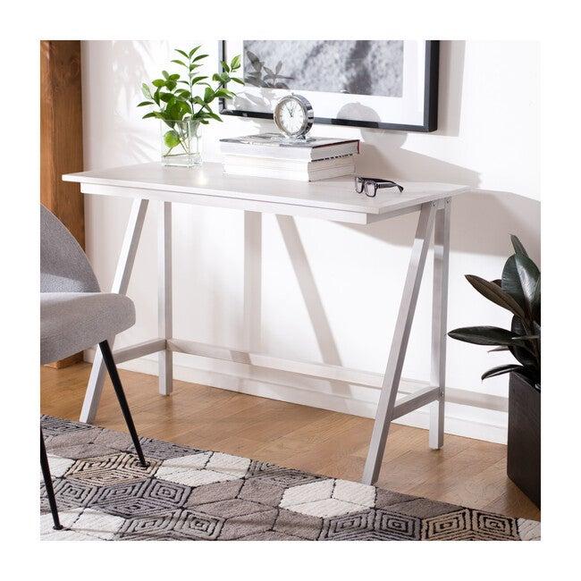 Redding Desk, White Wash