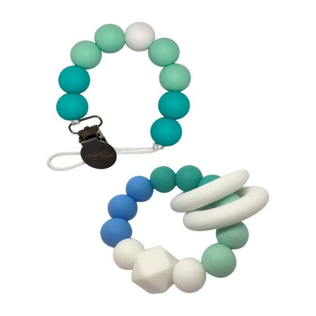 Ombre Teal & Aquamarine Sphere Set