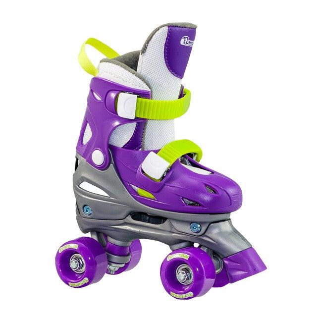 Adjustable Quad Skates, Purple - Sports Gear - 1