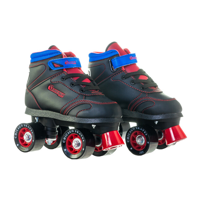 Sidewalk Skate, Black/Red
