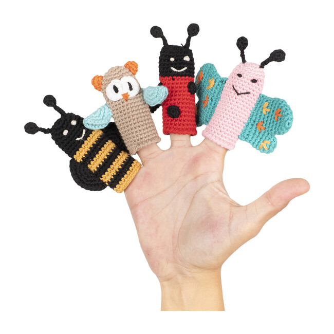 The Flutterers Finger Puppets