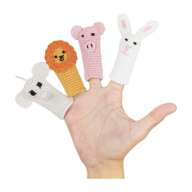 The Explorers Finger Puppets