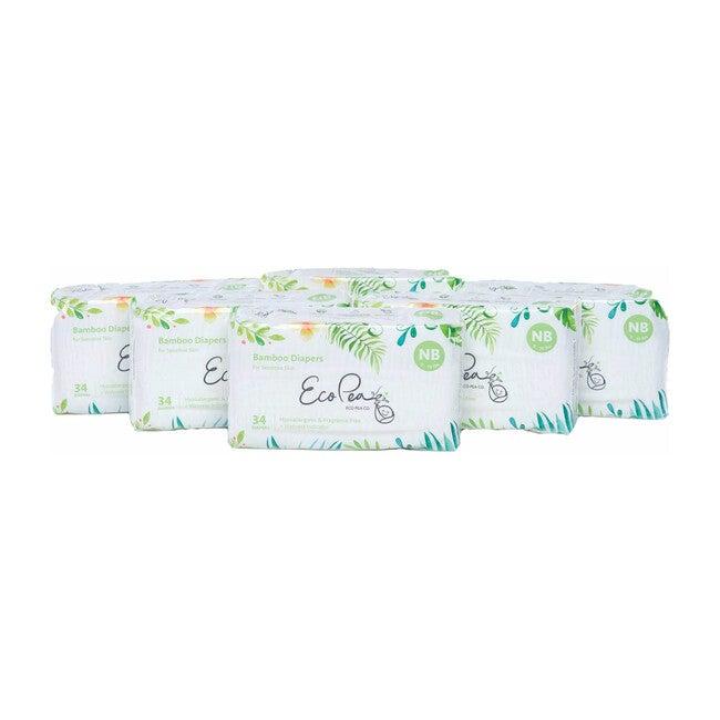 6 Packs of Bamboo Diapers