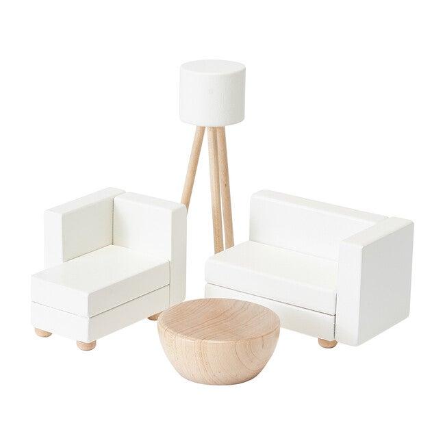 Living Room Dollhouse Furniture Set