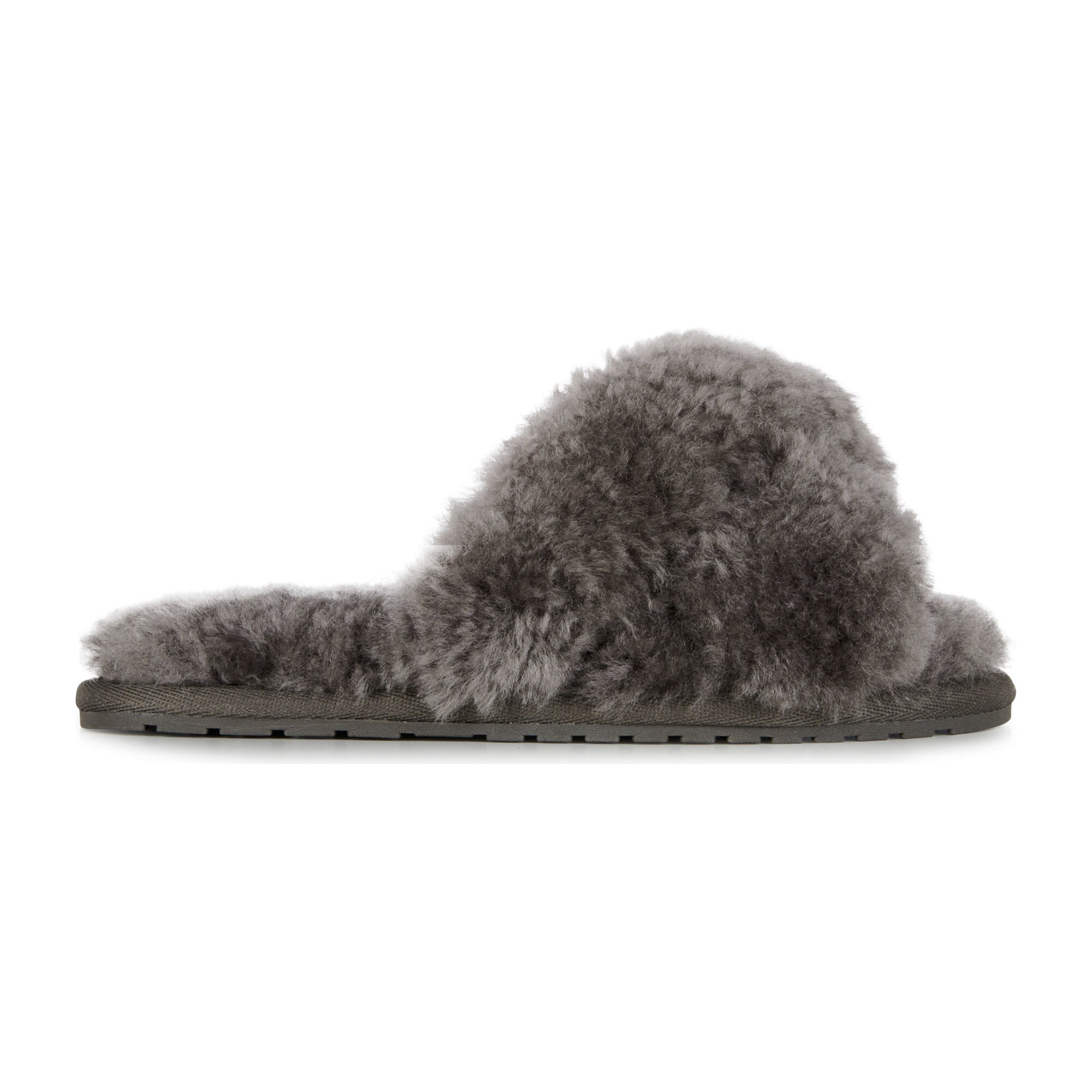 Mayberry Slipper, Charcoal