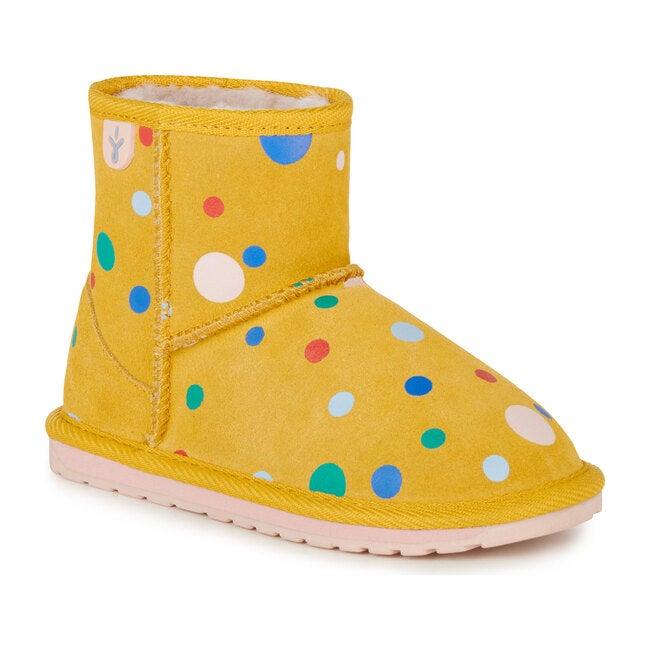 Circus Spot Mini Boot, Mustard