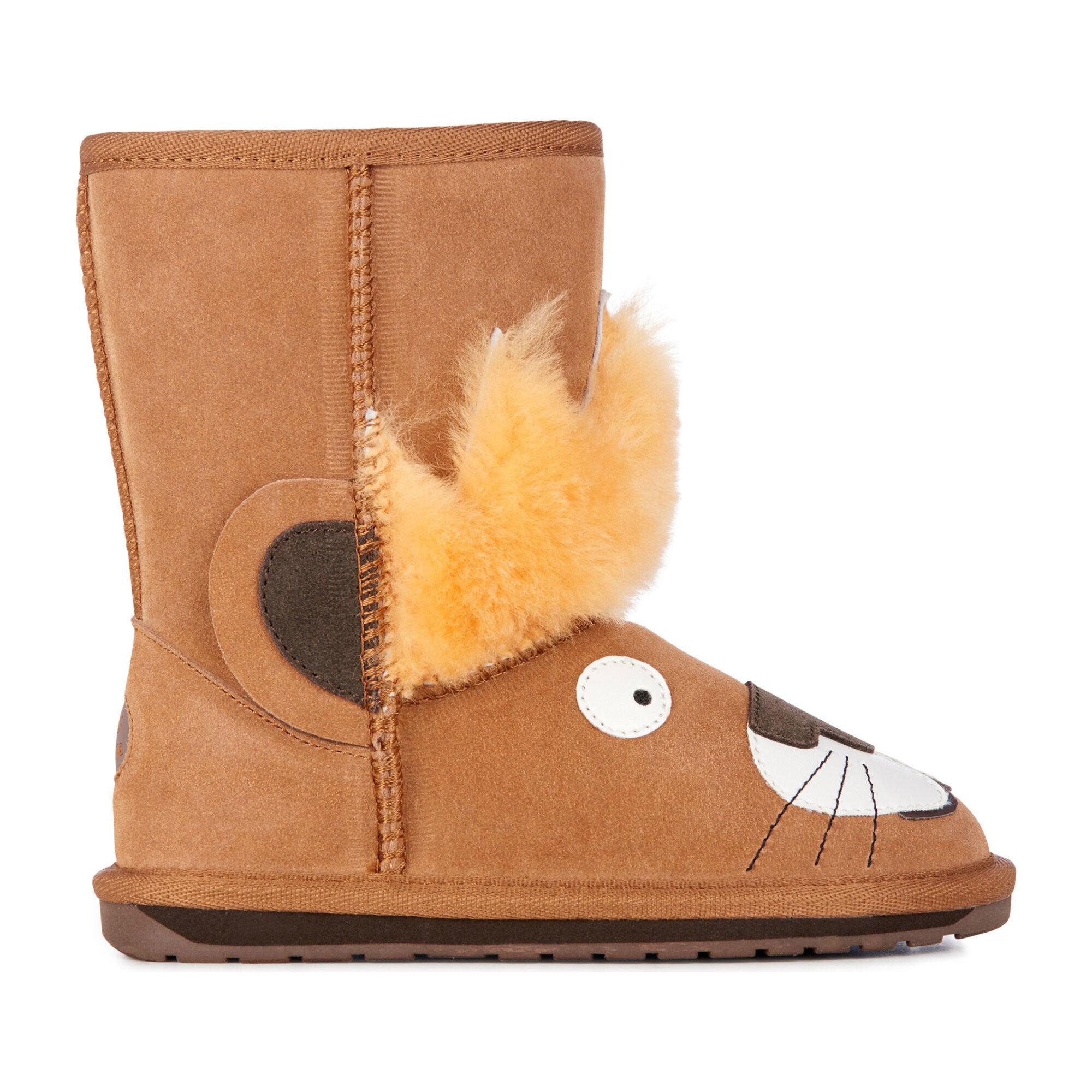 Leo Lion Boot, Chestnut
