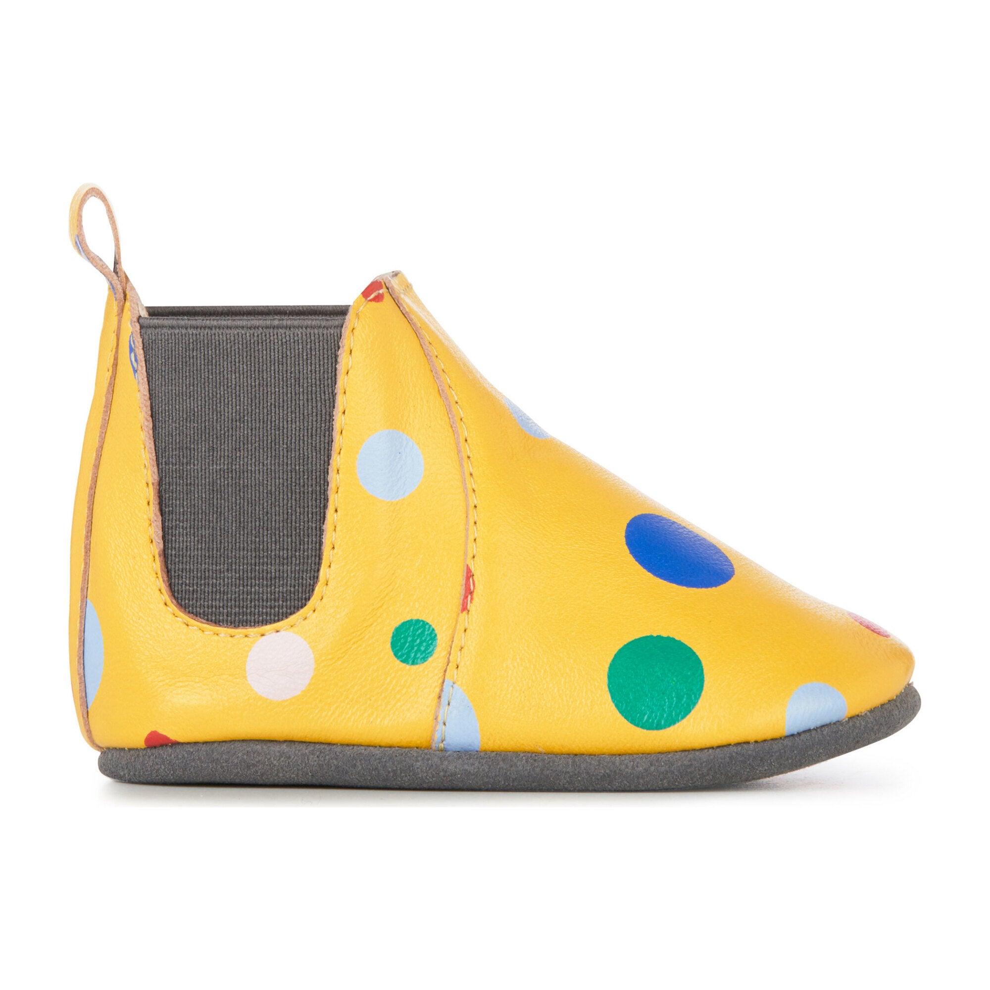 Ruby Circus Spot Bootie, Mustard