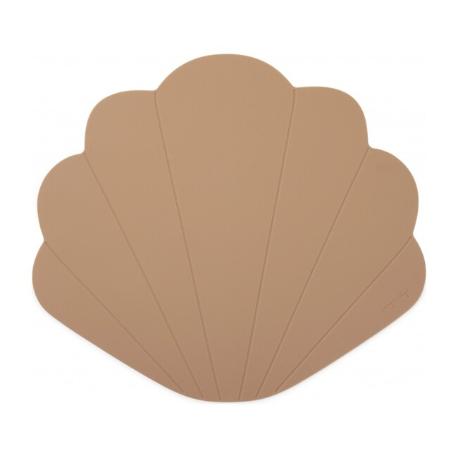 Silicone Placemat Clam, Blush