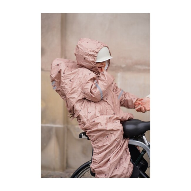Bicycle Rain Cover, Cherry Blush