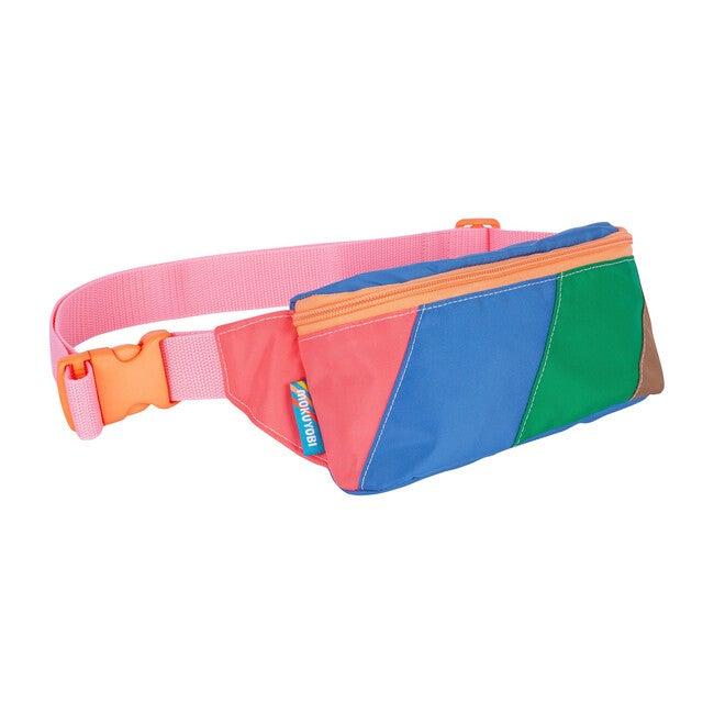 Color Block Fanny Pack, Rosebud