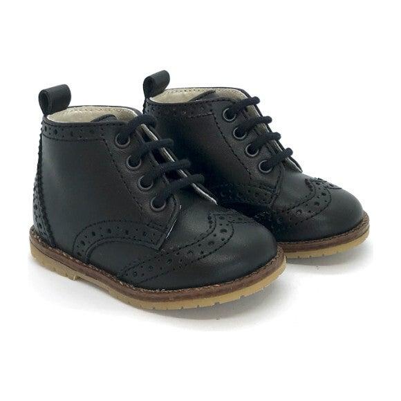Alexis First Step Boots, Noir