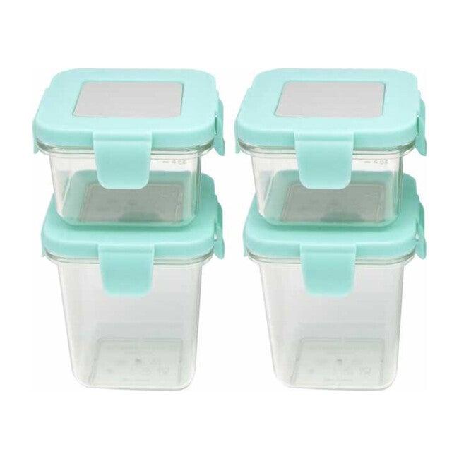 Tritan Air Tight Container - 4 oz 2 pcs & 8 oz 2 pcs
