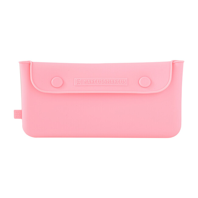 Silicone Cutlery Pouch - Pink
