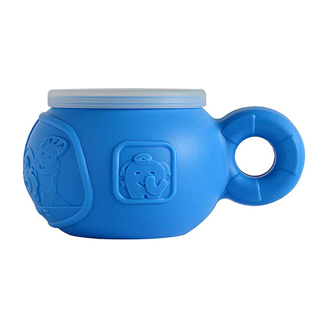 Snack Bowl with Handle - Lucas the Hippo