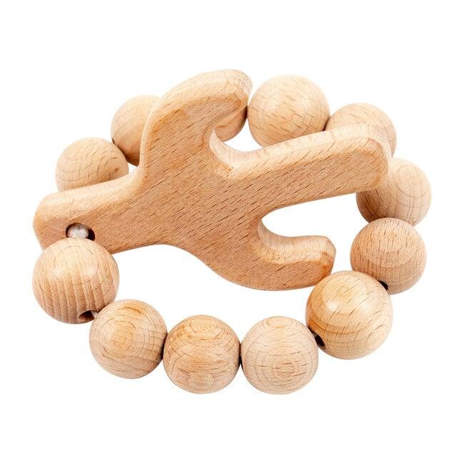 Wooden Teether, Cactus