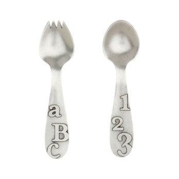 ABC/123 Spoon Set