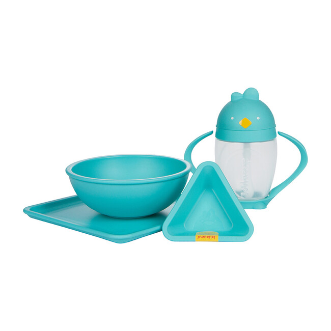 Exclusive Lollaland set, includes Lollacup and Mealtime set, Turquoise