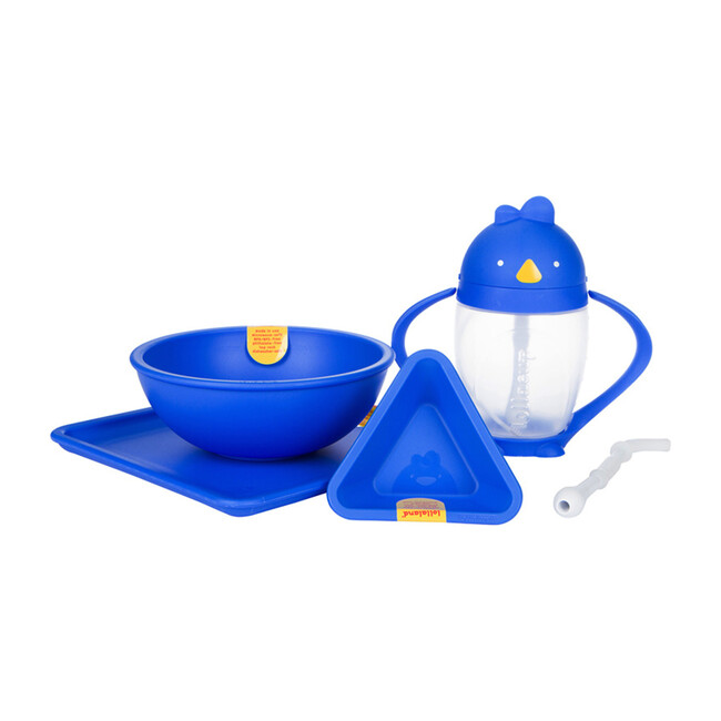 Exclusive Lollaland set, includes Lollacup and Mealtime set, Blue